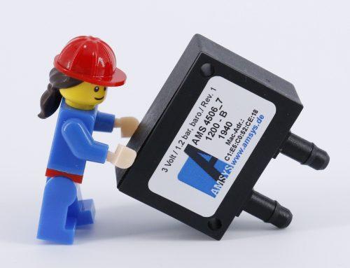 Der kleinste kabellose Differenz-drucksensor AMS4516