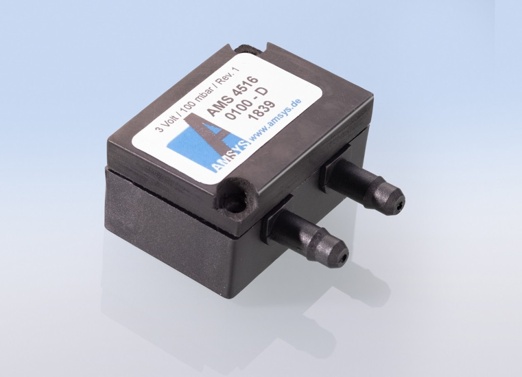 AMS 4516 – pressure transmitter with a Bluetooth 4.2 signal by AMSYS