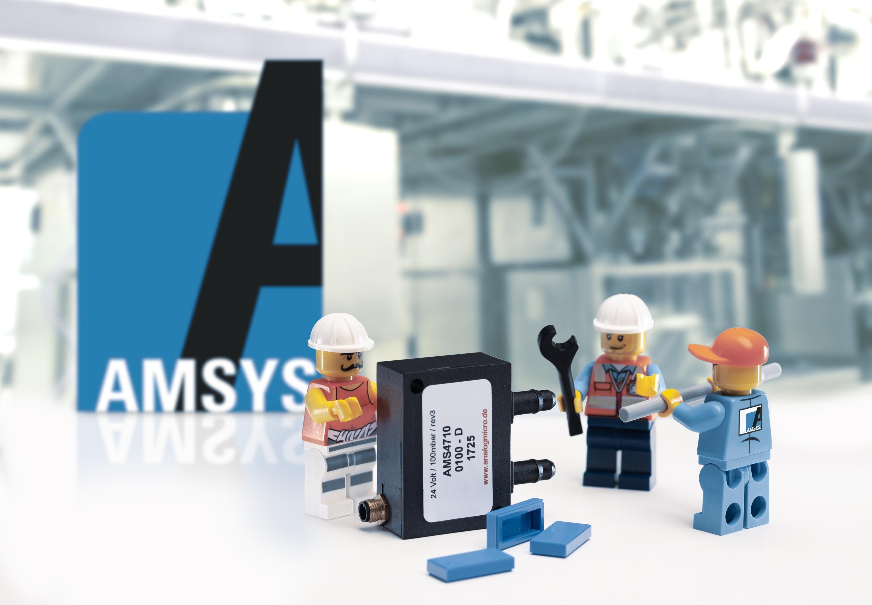 Bild Drucksensor AMS 4710 von AMSYS