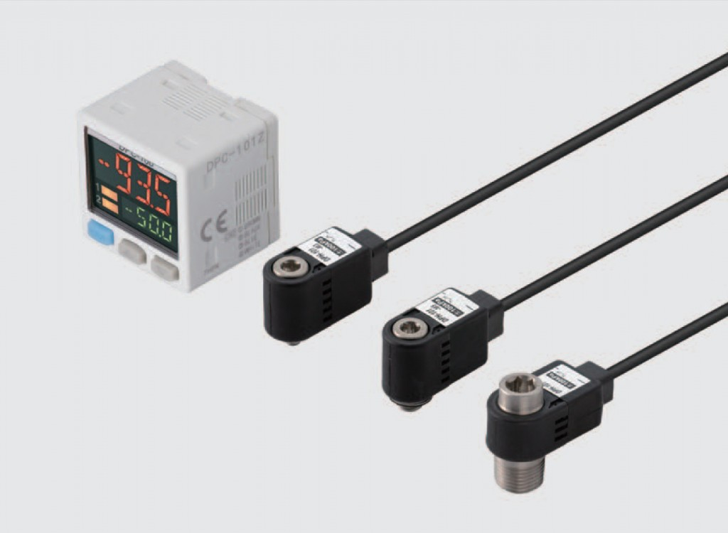 DPH100 - pressure sensor for pressure switch DPC100 by AMSYS