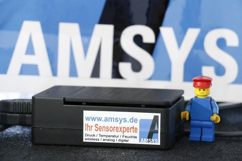 AMSYS Gateway- Schnittstelle kabelloser Sensor - PC by AMSYS