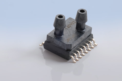 SOIC pressure sensor by AMSYS