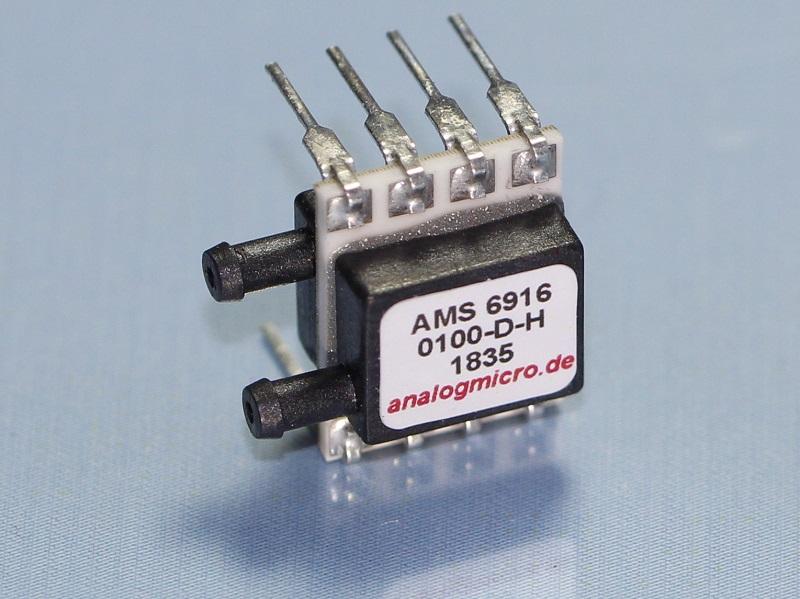 AMS 6915 analoger Miniatur-Drucksensor by AMSYS