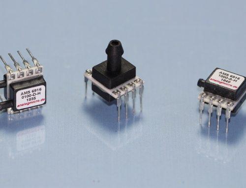 AMS 6916 – kleiner Drucksensor mit ratiometrischem Ausgang