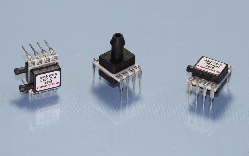 AMS 6915 pressure sensor variants