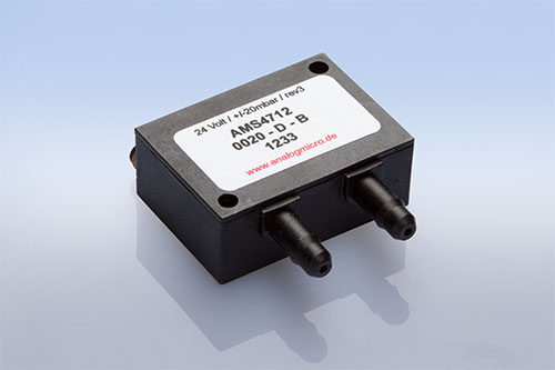 AMS 4712 analog pressure transmitter with 2-wire current output by AMSYS